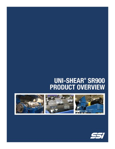 Uni-Shear® SR900 Single Rotor Shredder
