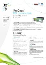 Analyseur ProCeas® N2O