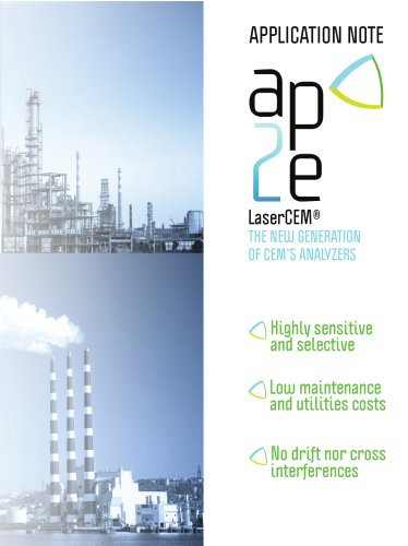 continuous emission monitoring - CEM - application note