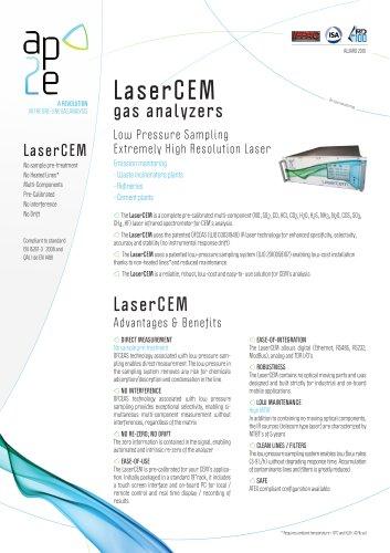 LaserCEM® gas analyzers