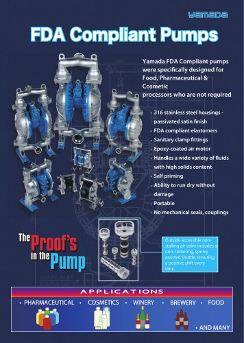FDA Compliant Pumps