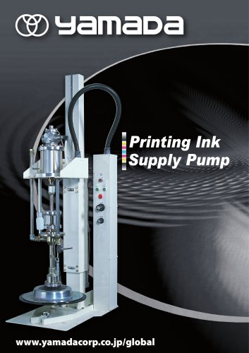 Printing Ink Supply Pumps