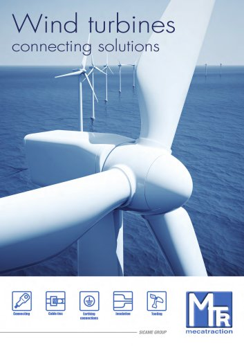 Wind turbines Connecting