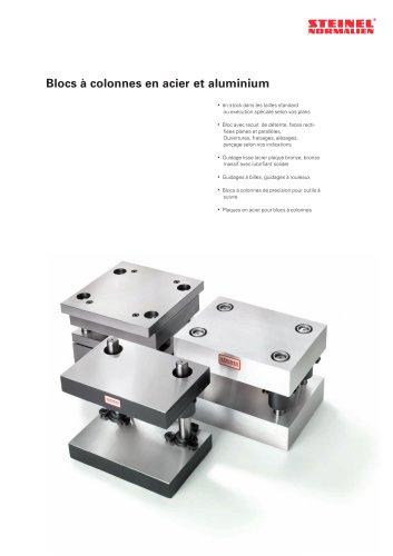 Blocs à colonnes en acier et en aluminium