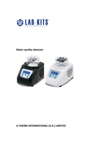 Water quality detector