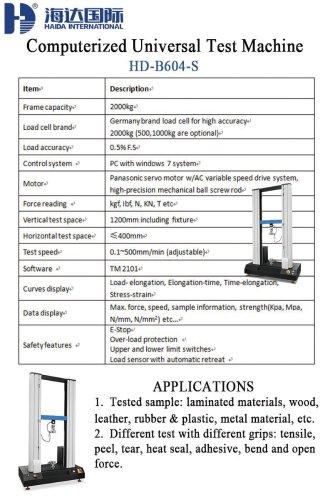 Computerized Universal Test Machine