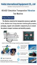 HD-A521 Vibration Test Machine