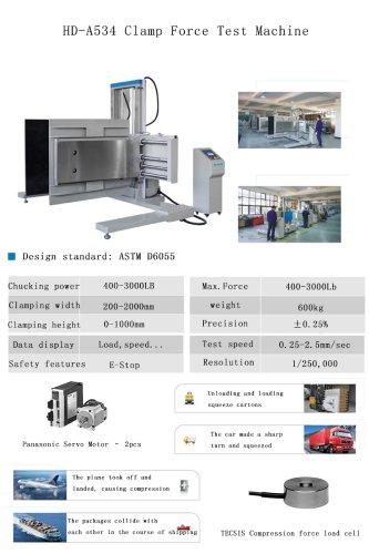 HD-A534 Clamp Force Test Machine