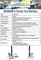 HD-B609B-S Tensile Test Machine