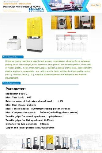 HD-B616 Hydraulic Universal Tensile Testing Machine