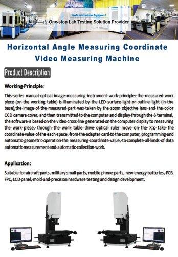 Horizontal Angle Measuring Coordinate