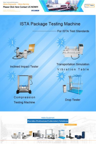 ISTA Package Testing Machine