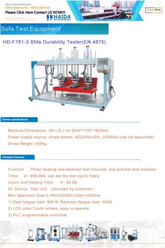 Sofa Test Equipment