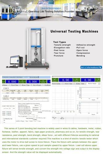 TENSILE TESTING MACHIME