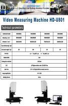 Video Measuring Machine HD-U801