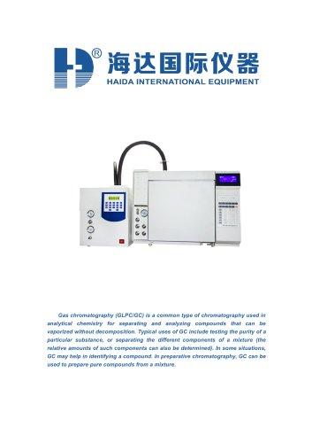 With EPC control High Sensitivity HPLC chromatography mass spectrometry test machine (GLPC/GC)