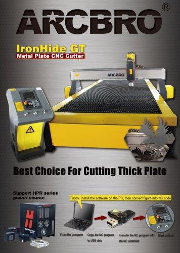 ArcBro IronHide GT plate cutting machine