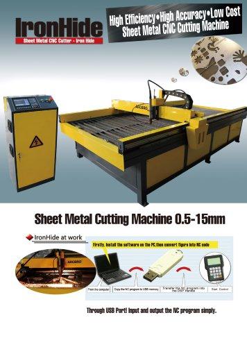 ArcBro IronHide Metal Sheet cutting machine