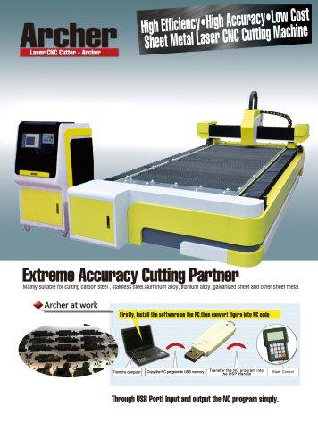 Archer fiber laser cutting machine