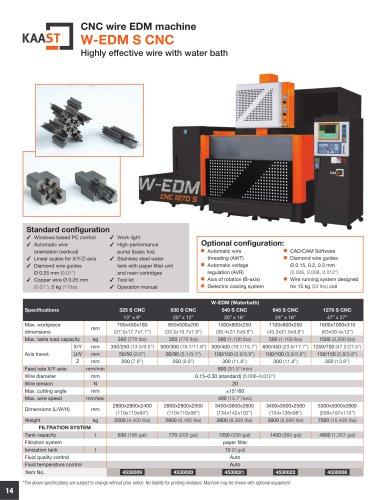 W-EDM S CNC