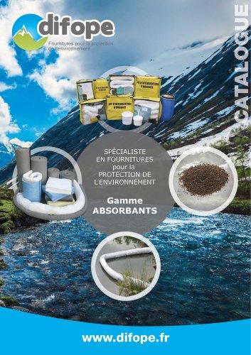 Absorbants anti pollution granulés et fibres