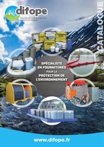 Catalogue DIFOPE fournitures pour la protection de l'environnement