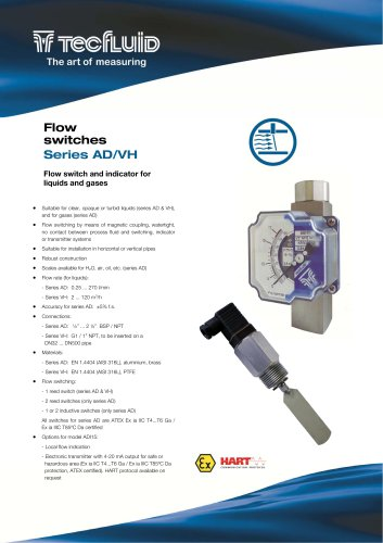Series_AD-VH_Flow_Switch_and_Indicator