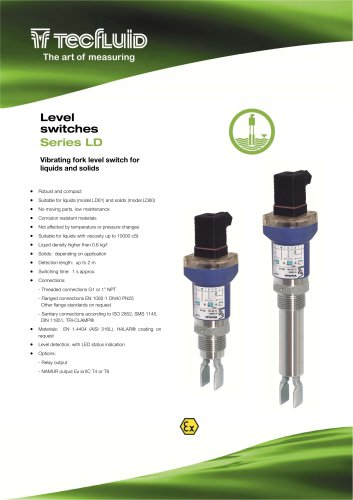 Series_LD_Vibrating_fork_level_Switch