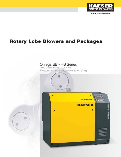 Omega Rotary Lobe Blower Catalogue