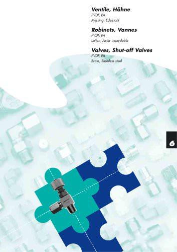 Valves, Shut-off-valves