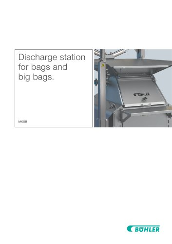 station for bags and big bags - MKSB