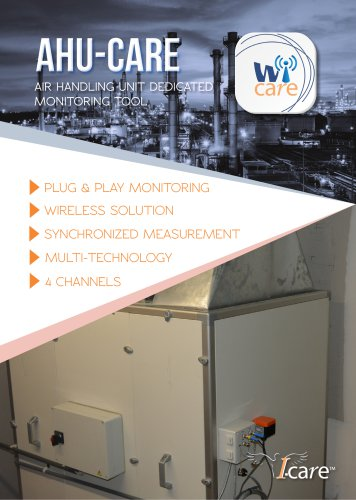 AHU-care AIR HANDLING UNIT DEDICATED MONITORING TOOL