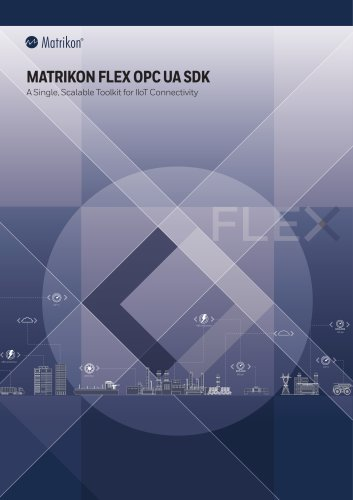 Matrikon FLEX OPC UA SDK - Brochure