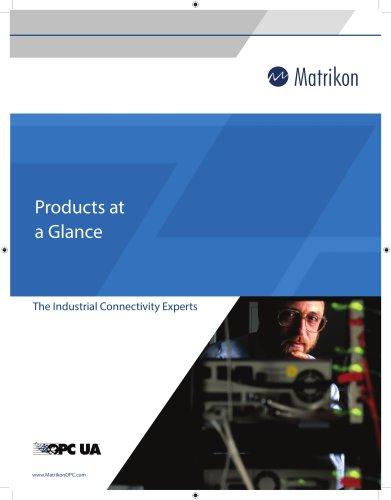 Matrikon_Product list in a Glance