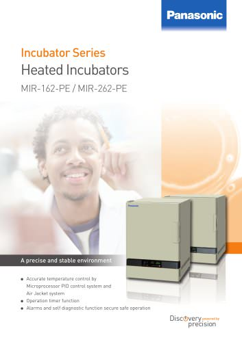 Heated Incubators MIR-162-PE / MIR-262-PE
