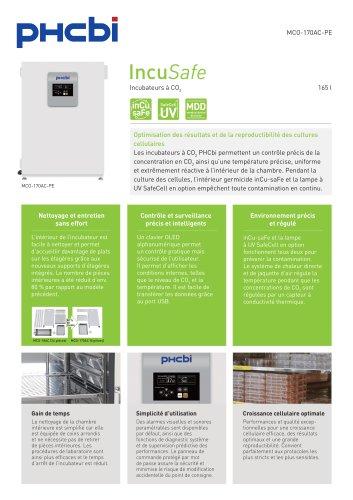 MCO-170AC-PE Incubateurs à CO2