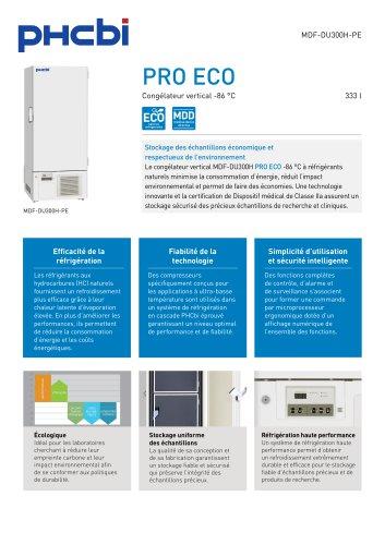 MDF-DU300H-PE -86°C Congélateur vertical