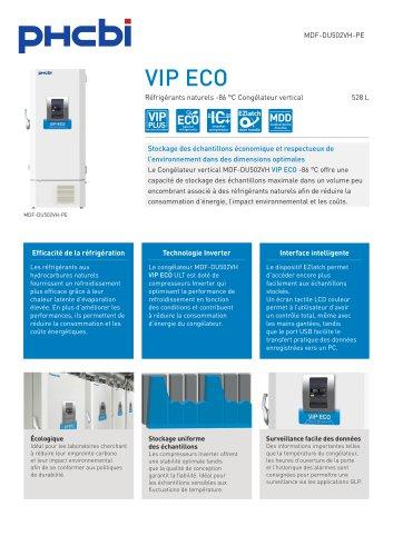 MDF-DU502VH-PE Réfrigérants naturels -86 °C Congélateur vertical
