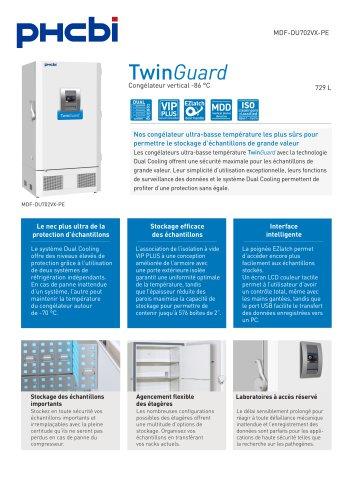 MDF-DU702VX-PE Congélateur vertical -86 °C