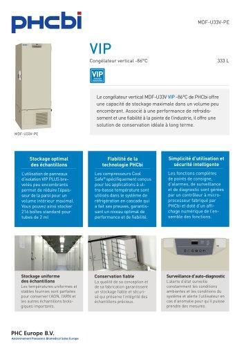 MDF-U33V-PE Congélateur vertical -86°C