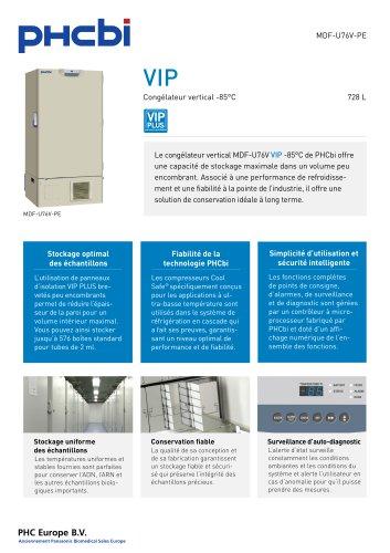 MDF-U76V-PE Congélateur vertical -85°C