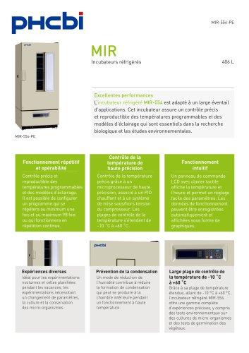 MIR-554-PE Cooled Inucbator