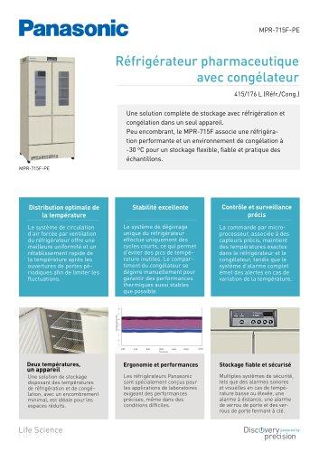 MPR-715F Réfrigérateur pharmaceutique avec congélateu
