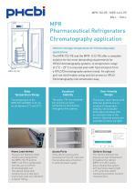 MPR Pharmaceutical Refrigerators Chromatography application