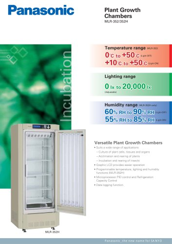 Plant Growth chambers MLR-352(H)-PE