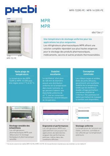 Réfrigérateurs Pharmaceutiques