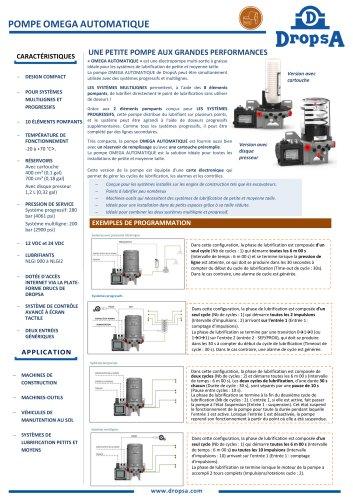 Automatic Omega pump