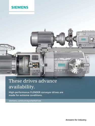 These drives advance availability.