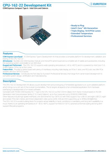 CPU-162-22 Development Kit