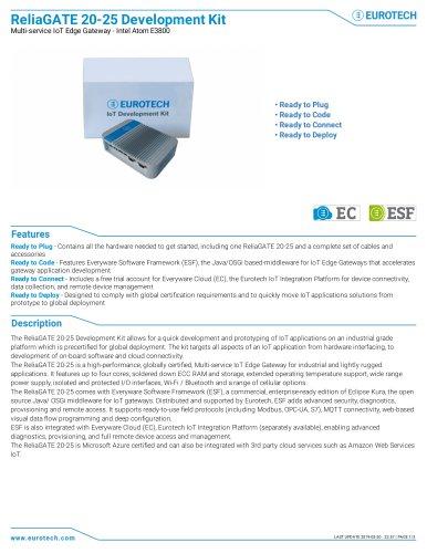 ReliaGATE 20-25 Development Kit
